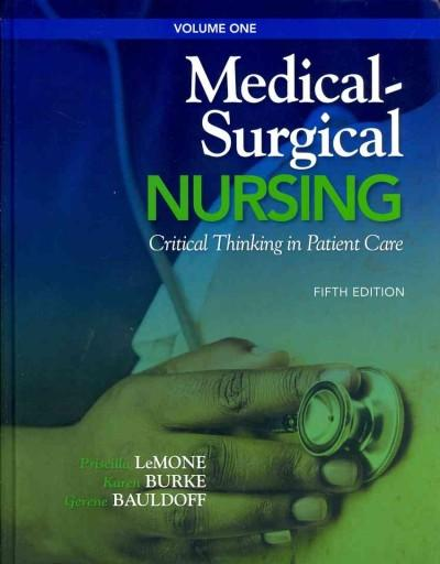 Medical-Surgical Nursing: Critical Thinking in Client Care (Hardcover)