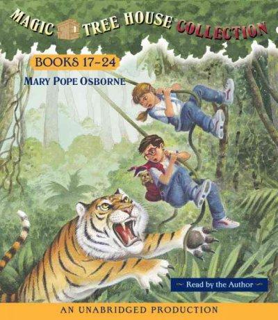 Magic Tree House Collection Books 17-24: Tonight on the Titanic/Buffalo Before Breakfast/Tigers at Twilight/Dingoe... (CD-Audio)