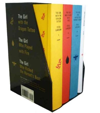 The Millennium Trilogy: The Girl with the Dragon Tattoo/ The Girl Who Played with Fire/ The Girl Who Kicked the H... (Hardcover)