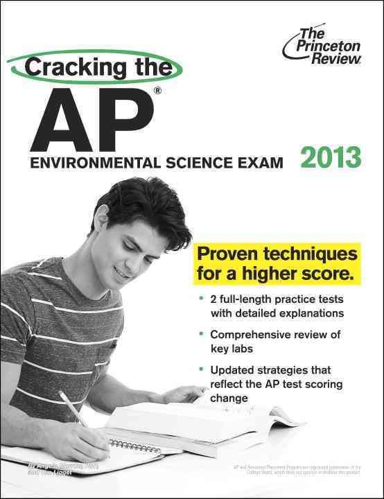 Cracking the AP Environmental Science Exam 2013 (Paperback)