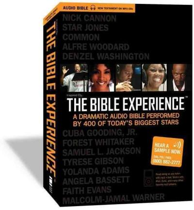 The Bible Experience: Now Including the Complete TNIV Bible Text to Read Along: the Complete Bible (CD-Audio)