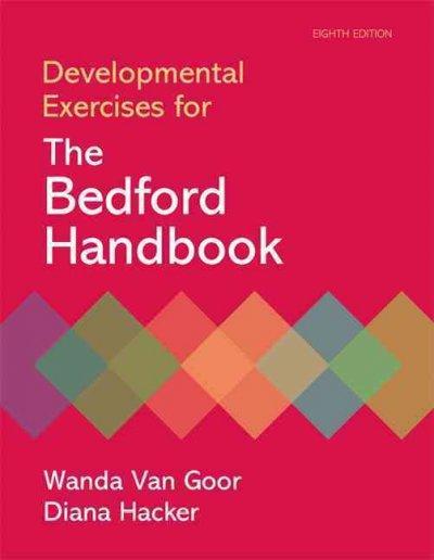 Developmental Exercises for The Bedford Handbook (Paperback)