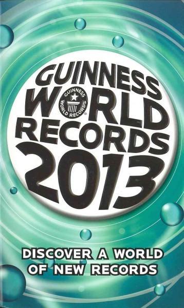 Guinness World Records 2013 (Paperback)