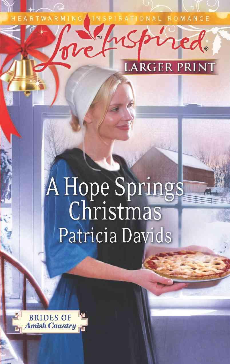 A Hope Springs Christmas (Large Print,Paperback)