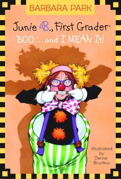 Boo. . .and I Mean It! (Hardcover)