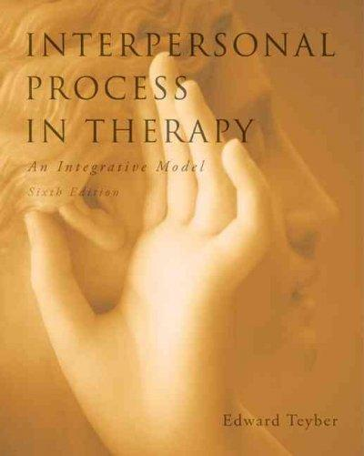 Interpersonal Process in Therapy: An Integrative Model (Hardcover)