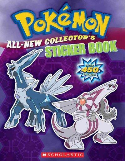 Pokemom All-New Collector's Sticker Book (Paperback)