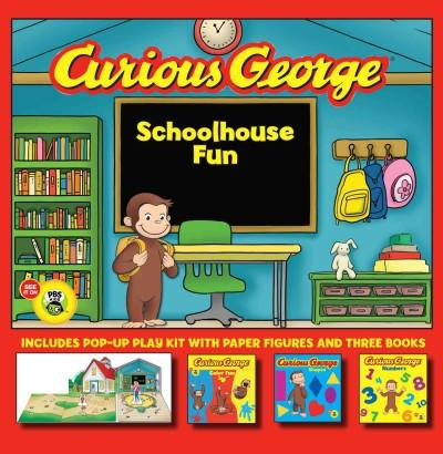 Curious George Schoolhouse Fun: Color Fun, Shapes, Numbers (Paperback)