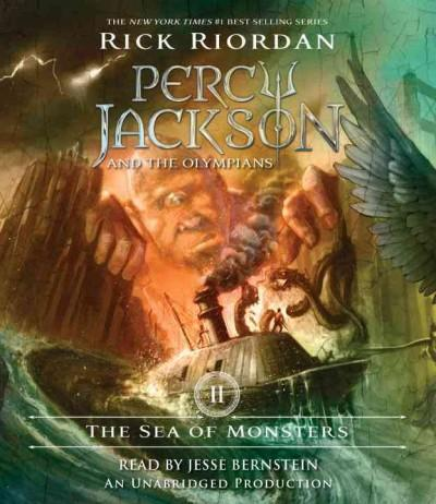 The Sea of Monsters (CD-Audio)
