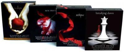 Stephenie Meyer CD Pack: Twilight / New Moon / Eclipse / Breaking Dawn (CD-Audio)