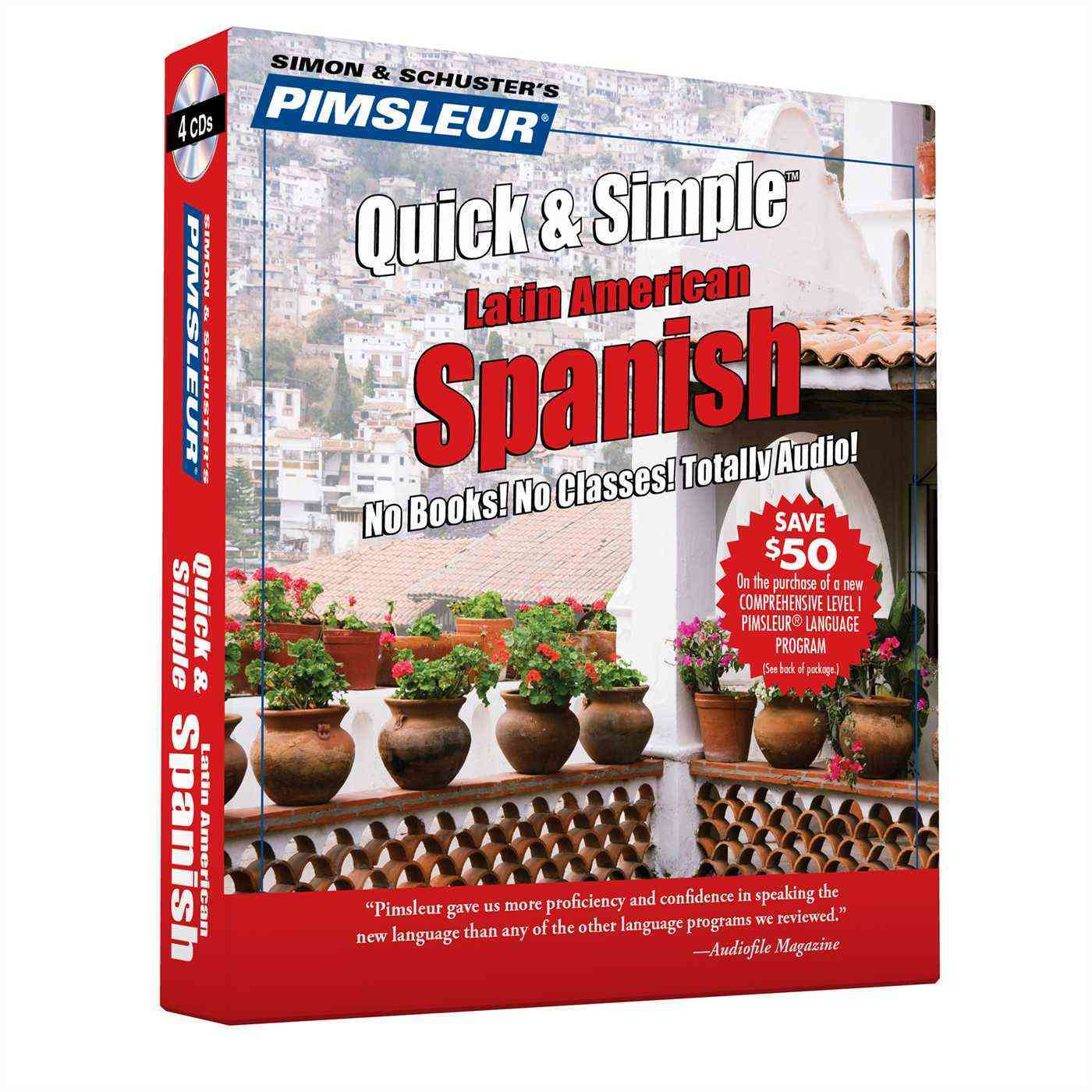 Pimsleur Quick & Simple Spanish 1: Latin American Spanish (CD-Audio)
