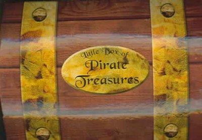 Little Box Of Pirate Treasures (Hardcover)