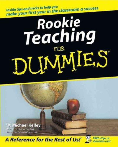 Rookie Teaching for Dummies (Paperback)