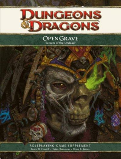 Dungeons & Dragons Open Grave: Secrets of the Undead (Hardcover)
