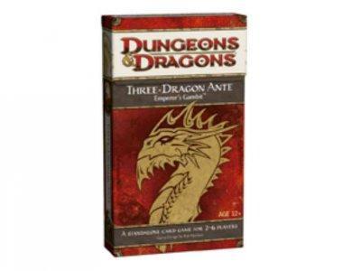 Three-Dragon Ante: Emporer's Gambit (Cards)
