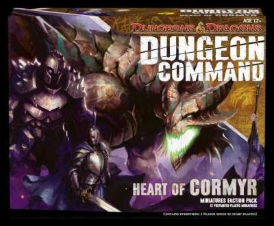 Dungeon Command: Heart of Cormyr Miniatures Faction Pack (Game)