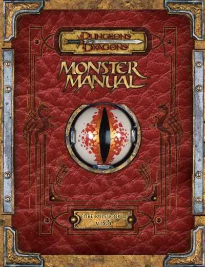 Monster Manual: Core Rulebook (Hardcover)