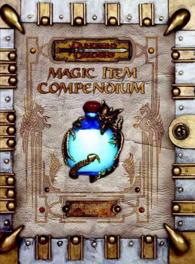 Dungeons & Dragons Magic Item Compendium 3.5 (Hardcover)