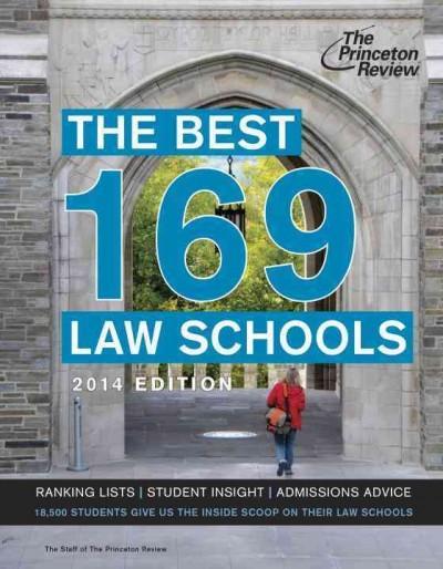 The Best 169 Law Schools 2014 (Paperback)