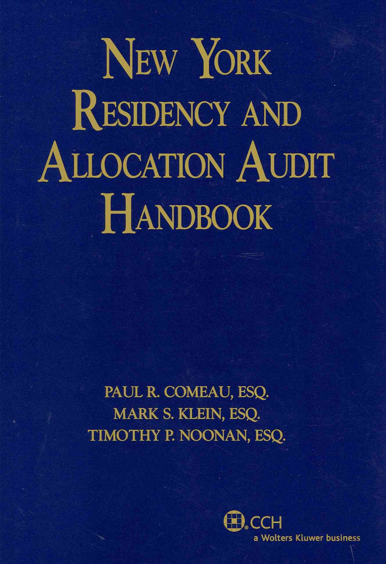 New York Residency and Allocation Audit Handbook (Paperback)