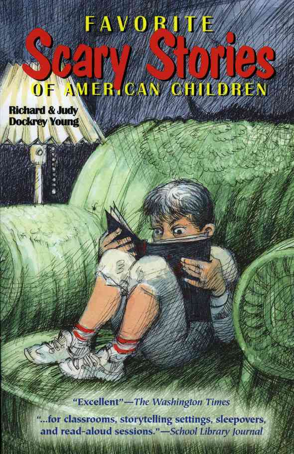 Favorite Scary Stories of American Children (Paperback)