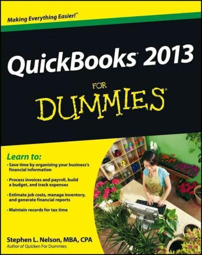 Quickbooks 2013 for Dummies (Paperback)