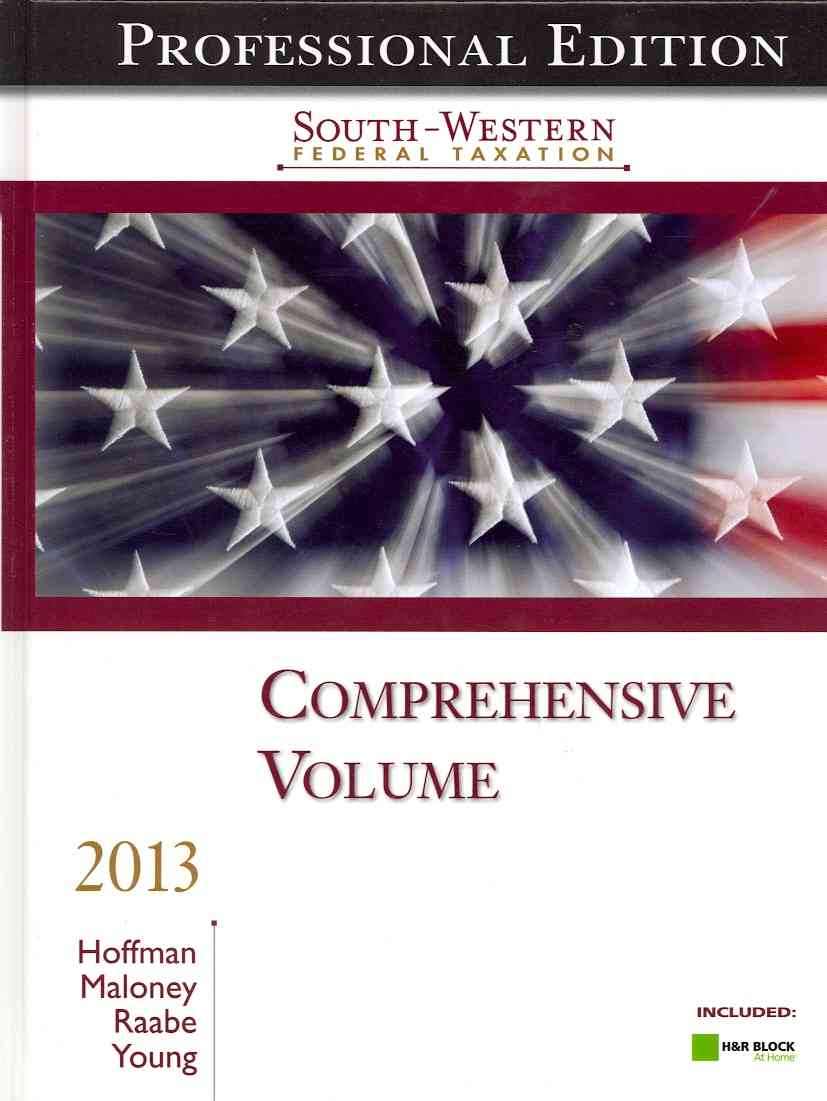 South-Western Federal Taxation 2013: Comprehensive