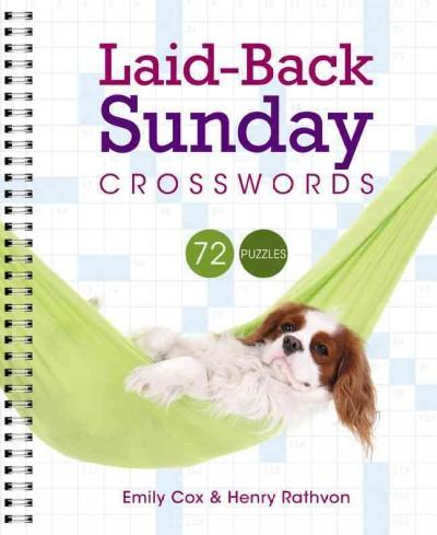 Laid-Back Sunday Crosswords (Paperback)