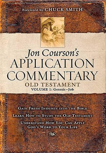 Jon Courson's Application Commentary: Old Testament Genesis-Job (Hardcover)
