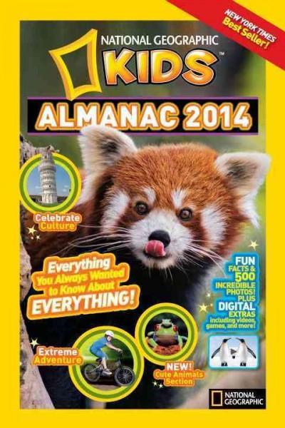 National Geographic Kids Almanac 2014 (Paperback)