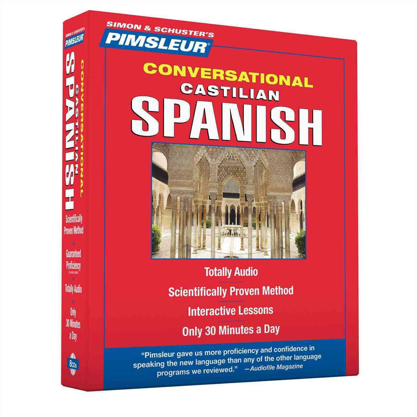 Pimsleur Conversational Castilian Spanish (CD-Audio)