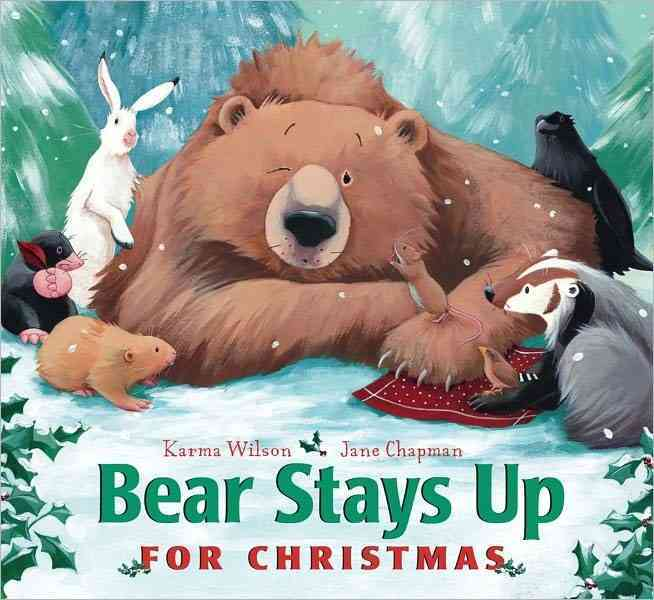Bear Stays Up for Christmas (Board book)