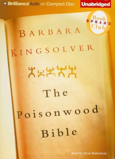 The Poisonwood Bible: Oprah's Book Club (CD-Audio)