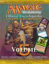 Magic-The Gathering: Official Encyclopedia, the Complete Card Guide (Paperback)