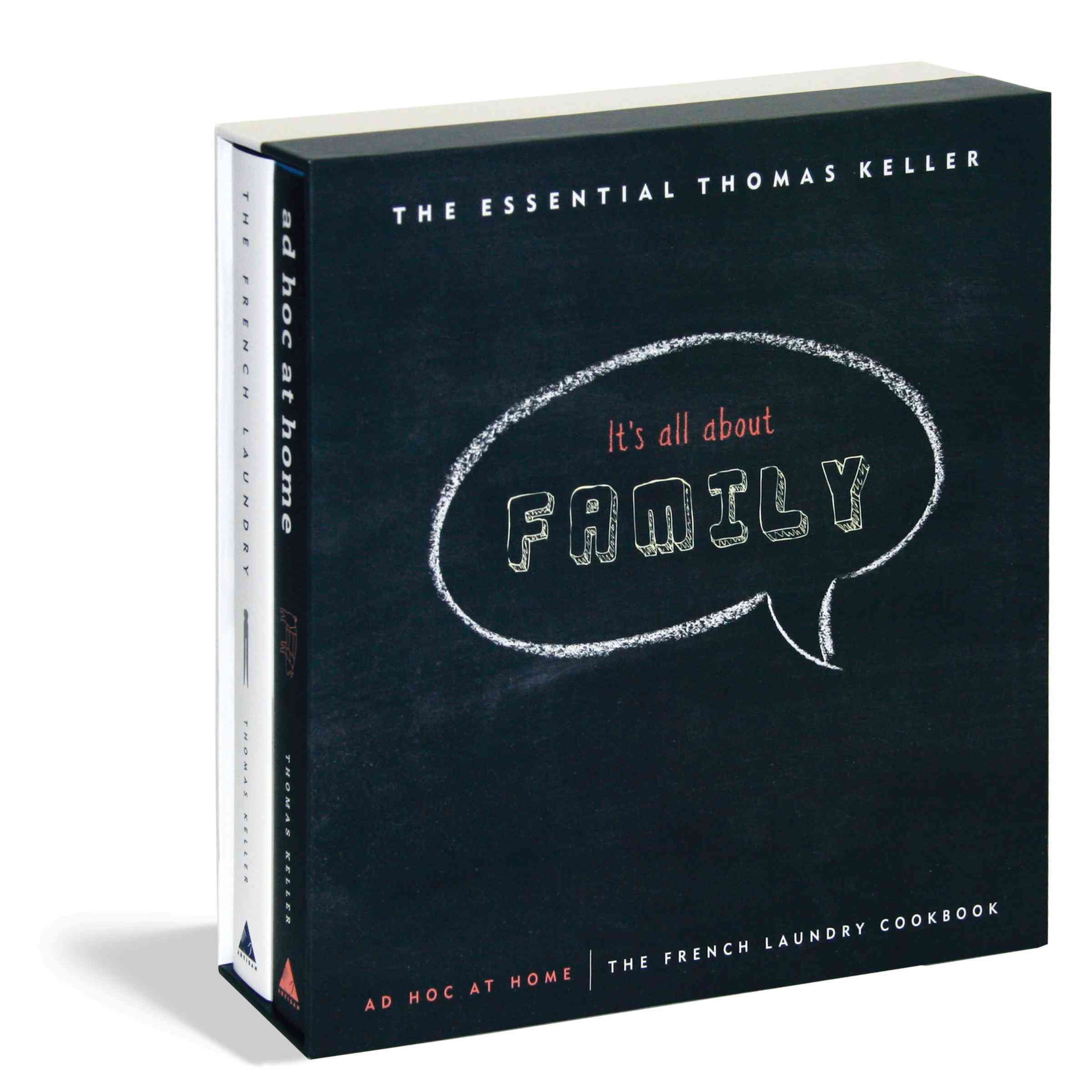 The Essential Thomas Keller: The French Laundry Cookbook / Ad Hoc at Home (Hardcover)