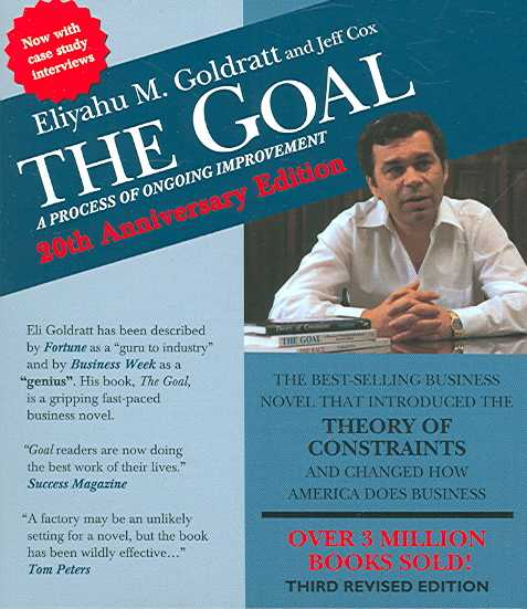 The Goal: A Process of Ongoing Improvement : 20th Anniversary Edition (CD-Audio)