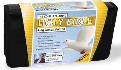 The Complete Audio Holy Bible: King James Version (CD-Audio)