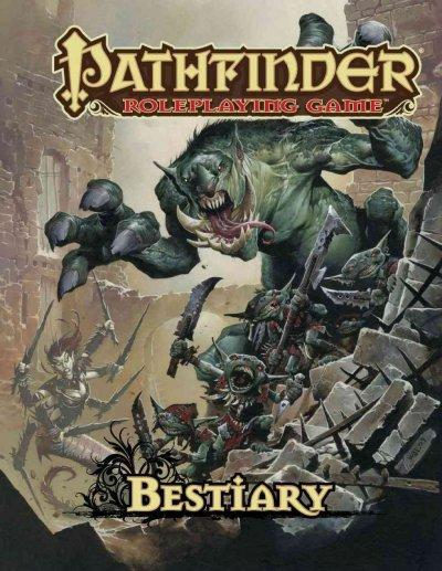 Pathfinder Roleplaying Game: Bestiary (Hardcover)