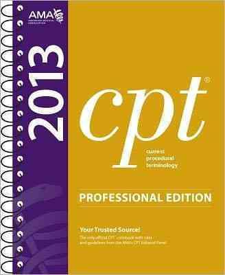 CPT 2013 (Spiral bound)