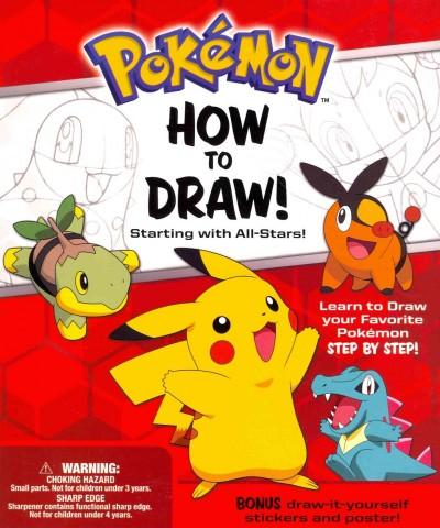 Pokemon How-to-Draw! Kit: Starting With All-Stars!