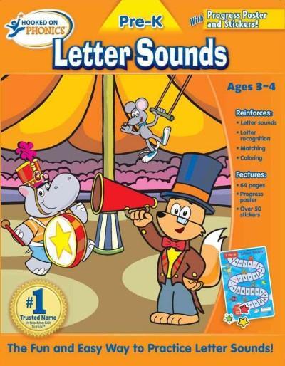 Hooked on Phonics Letter Sounds Pre-K (Paperback)