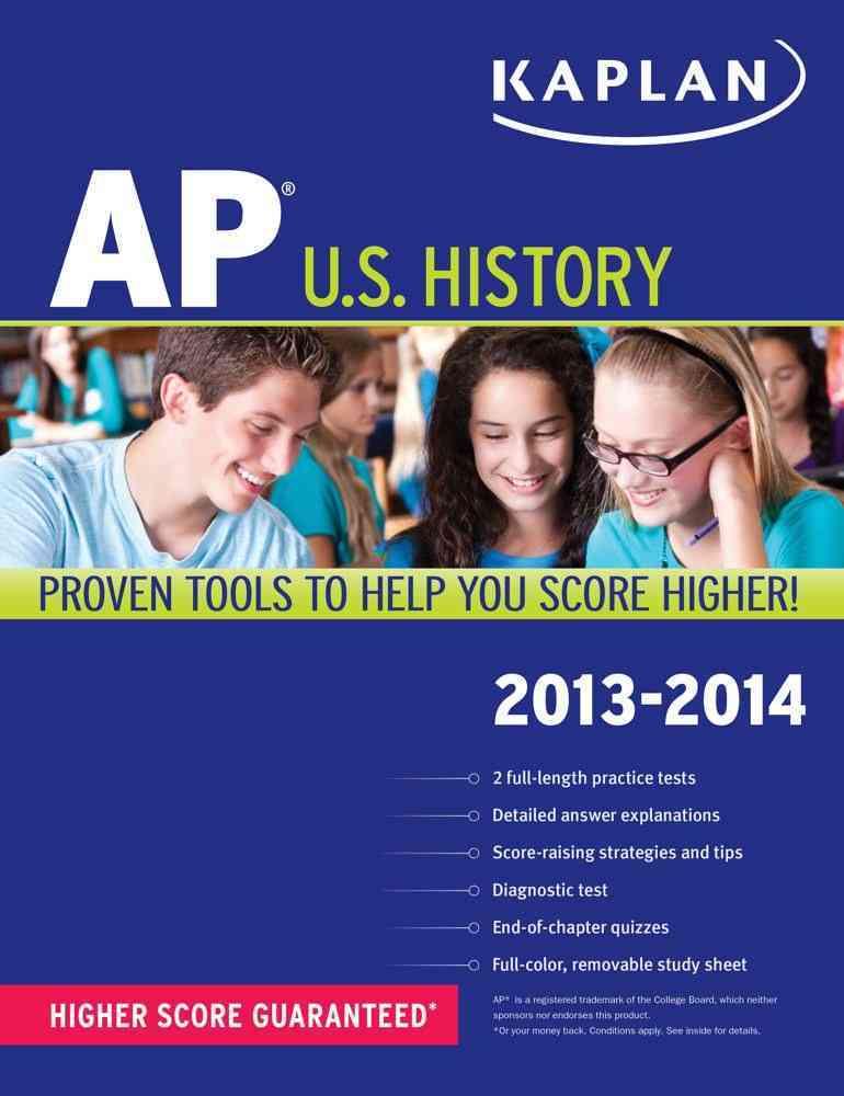 Kaplan AP U.S. History 2013-2014 (Paperback)