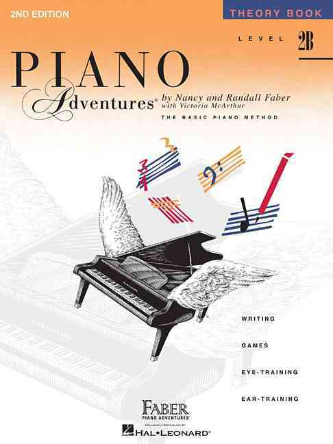Piano Adventures Theory Book, Level 2B: A Basic Piano Method (Paperback)