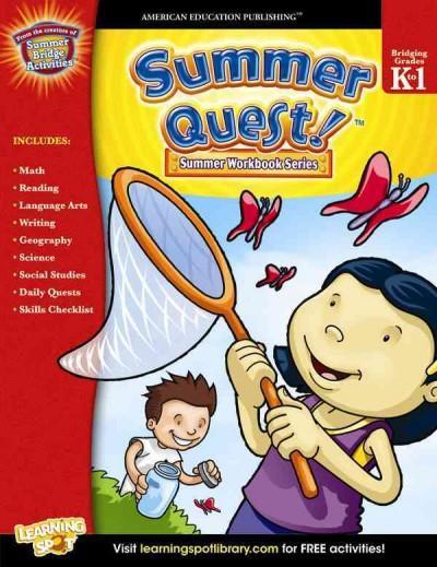 Summer Quest, Grades K-1 (Paperback)