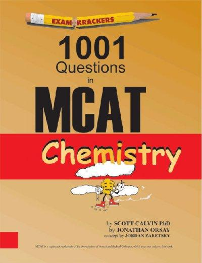 Examkrackers 1001 Questions in MCAT Chemistry (Paperback)