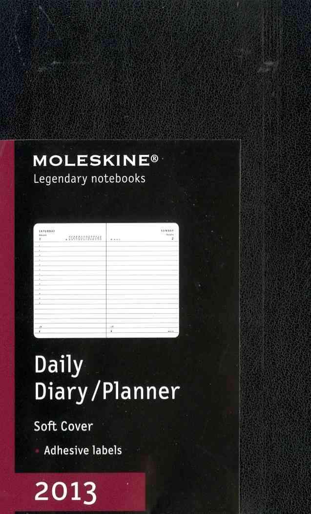 Moleskine Daily Diary/Planner 2013