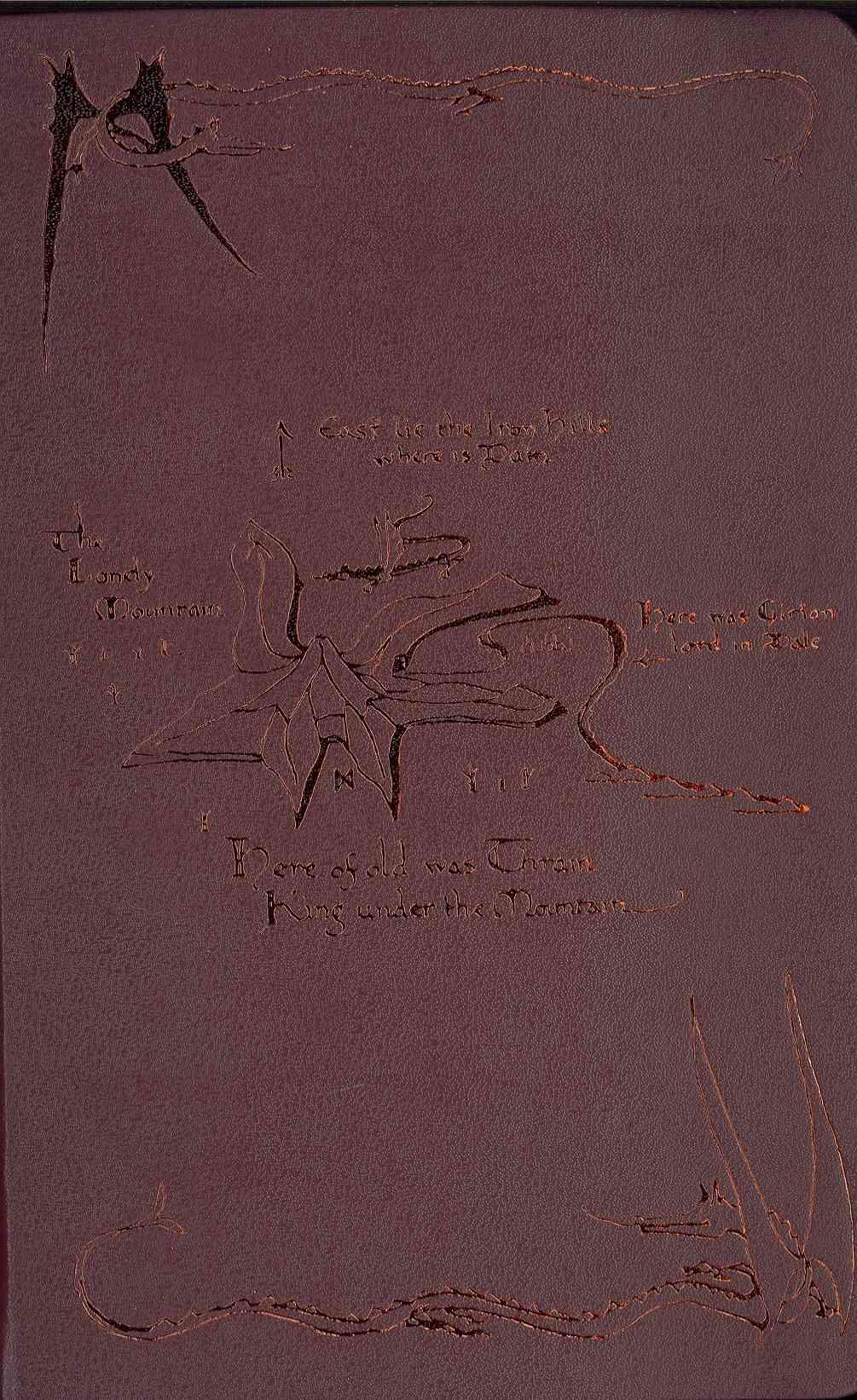 Moleskine the Hobbit Ruled Large Notebook (Notebook / blank book)