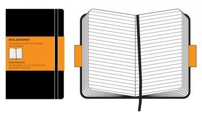 Moleskine Ruled Notebook (Notebook / blank book)
