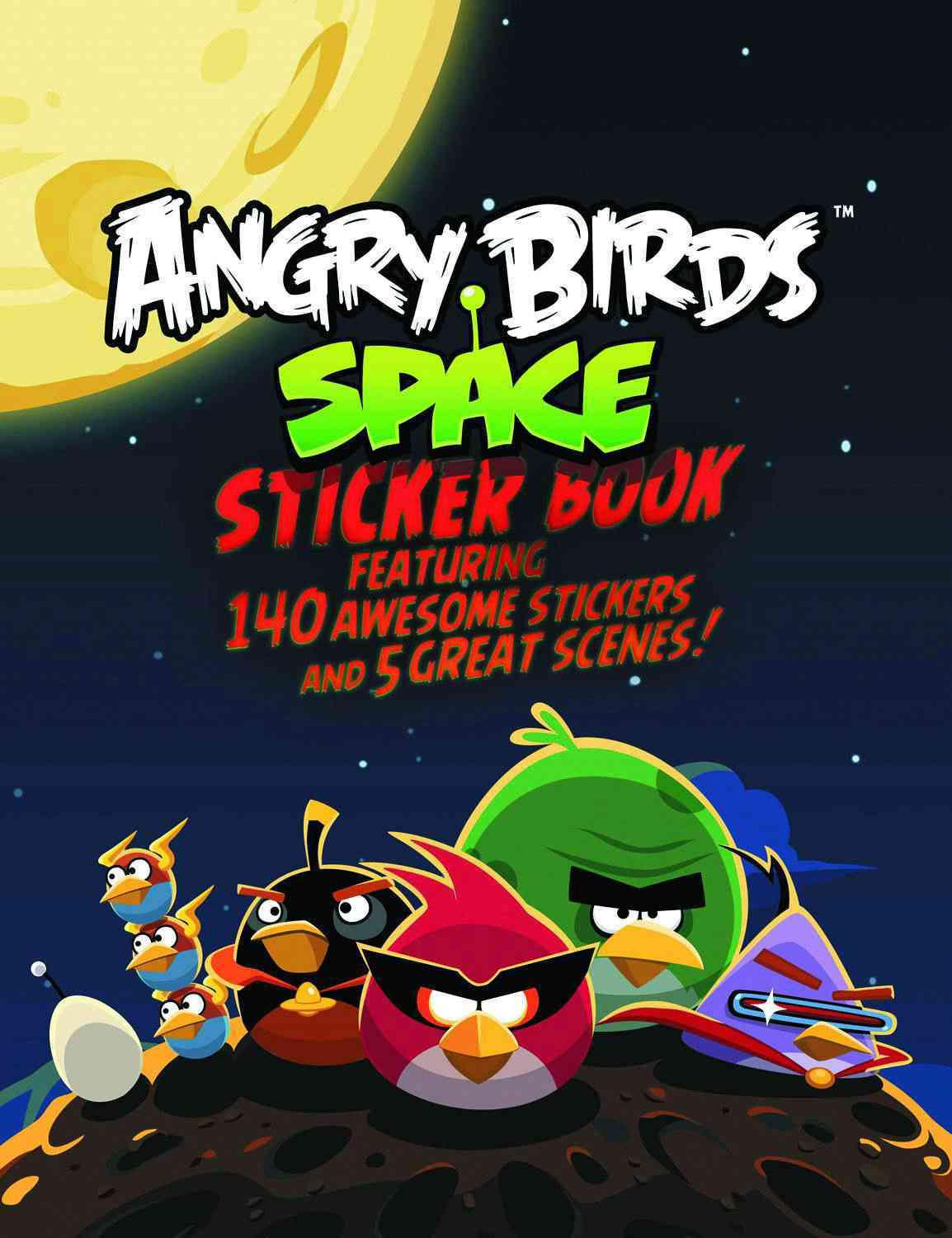 Angry Birds Space Sticker Book (Paperback)