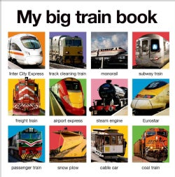 My Big Train Book (Board book)